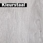 Kleurstaal GAMMA Elan laminaat met  kalkgrijs eiken 8mm 14x20,1x0,7 cm
