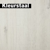 Kleurstaal GAMMA laminaat Signature Xtra breed wit eiken 8mm