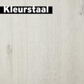 Kleurstaal GAMMA Signature Xtra Breed Laminaat Wit Eiken