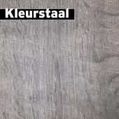 Kleurstaal Laminaat XXL met V-groef Wit eiken 8mm