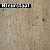 Kleurstaal Click pvc gebleekt grenen 4,2 mm