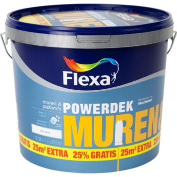Flexa Powerdek RAL9010 gebroken wit 10 liter + 25%