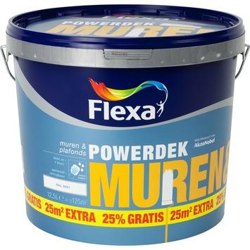 Flexa Powerdek RAL9001 creme wit10 liter + 25%