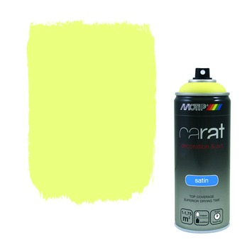 Motip Carat zijdeglans easter yellow