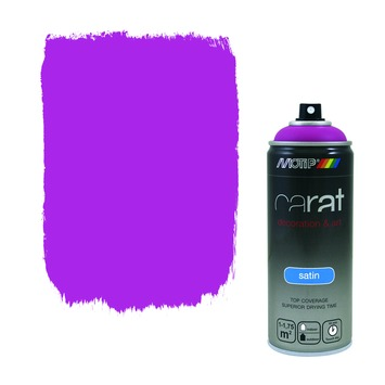 Motip Carat zijdeglans traffic purple