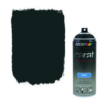 Motip Carat zijdeglans jet black