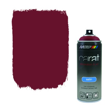 Motip Carat zijdeglans purple red