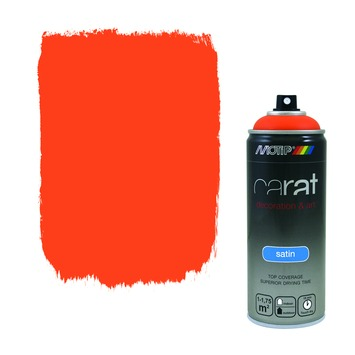Motip Carat zijdeglans traffic orange
