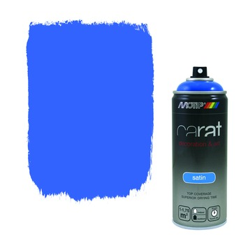 Motip Carat zijdeglans traffic blue