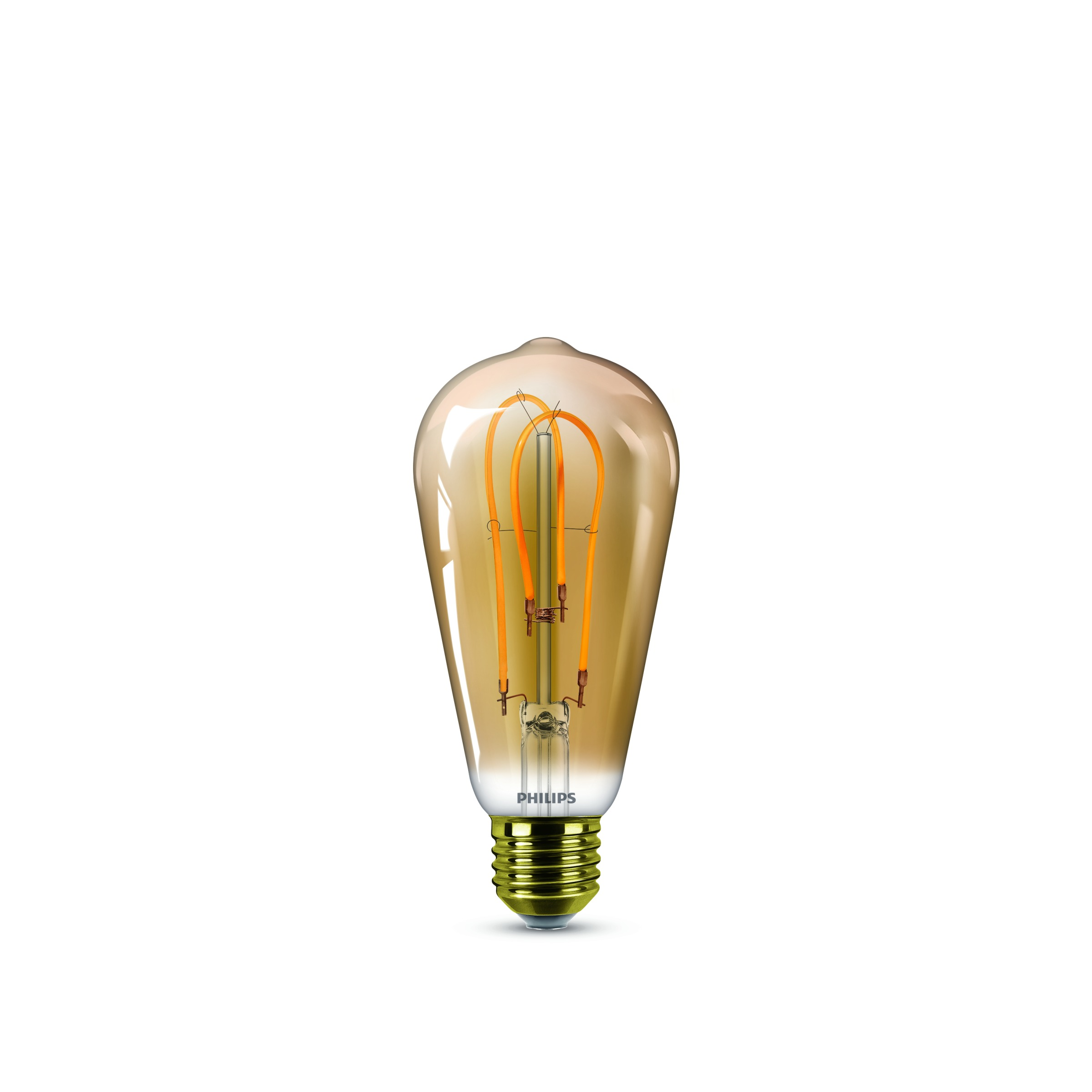 LED-lamp E27 Peer 5 W = 25 W Goud Energielabel: A Philips Lighting 1 stuks