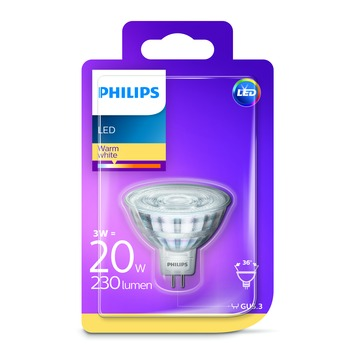 Philips LED 20W GU5.3 warm wit