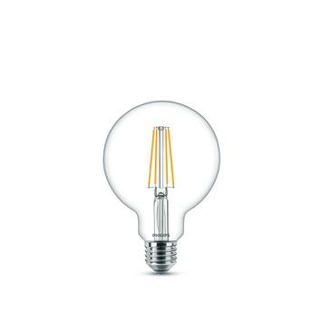 Philips LED globe E27 60W filament helder niet dimbaar