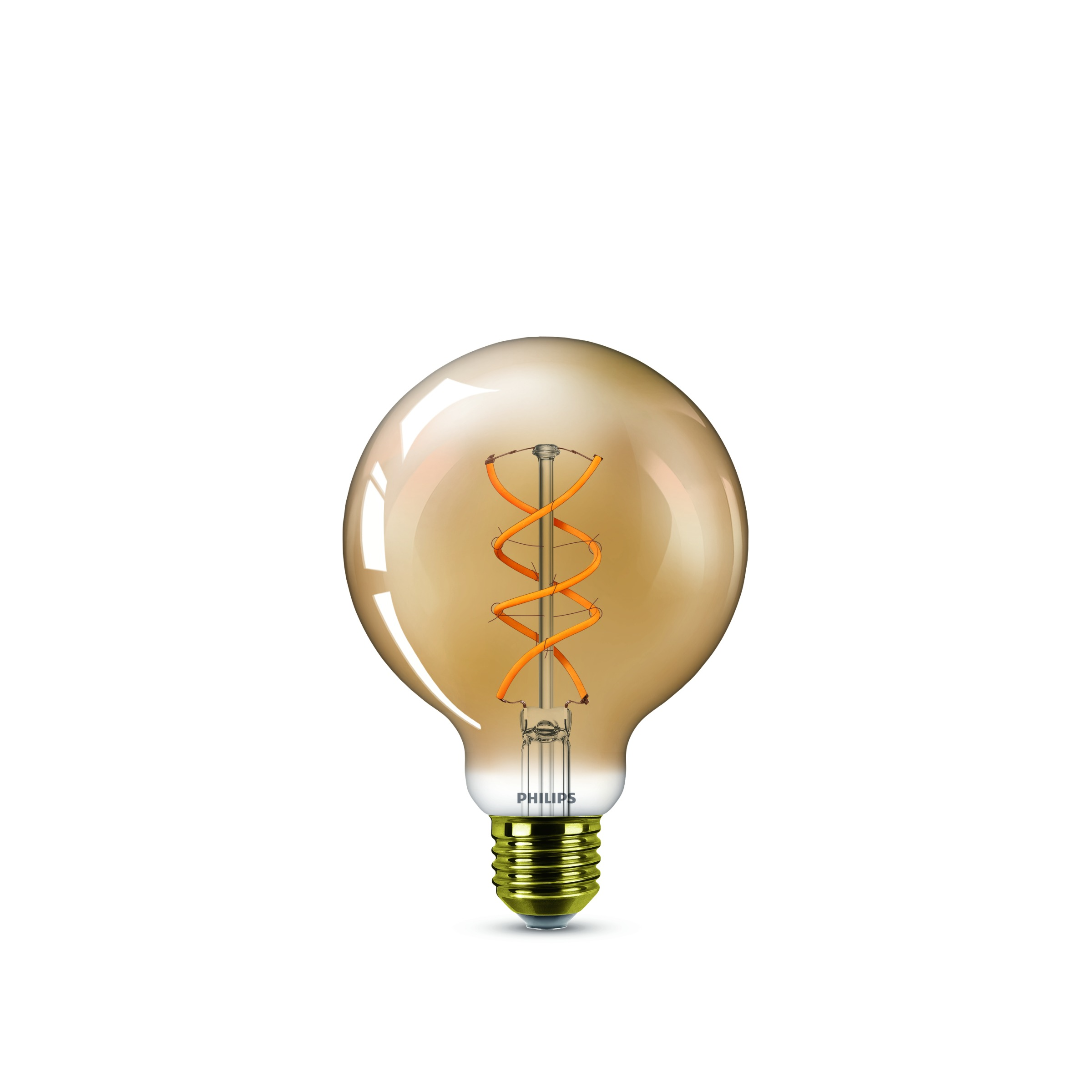 LED-lamp E27 Bol 5 W = 25 W Goud Energielabel: A Philips Lighting 1 stuks