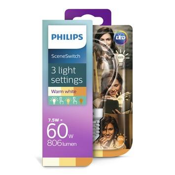 Philips Classic LED 60W E27 warm wit