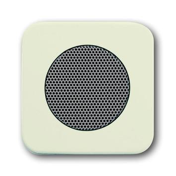 Busch-Jaeger Reflex SI centraalplaat inbouw luidspreker crème