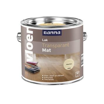 GAMMA vloerlak kleurloos mat 2,5 liter