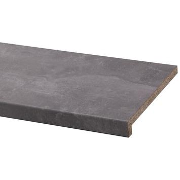 Gamma cando vensterbank spaanplaat beton grijs 305x29 cm for Gamma cando vensterbank