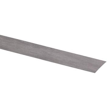CanDo kantenband vensterbank beton grijs 4,3x45 cm 2 stuks