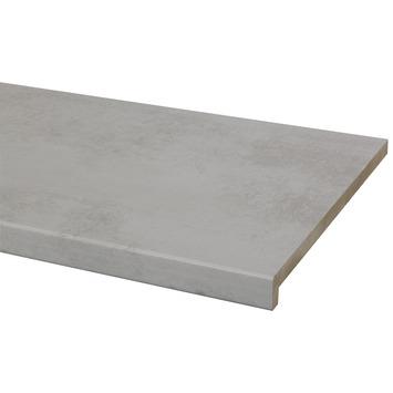 gamma cando vensterbank mdf warm beton 250x30 cm kopen