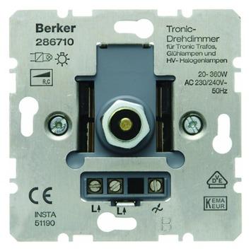 Berker S.1 Inbouw Dimmer Halogeen Elektrische Trafo 20-360W