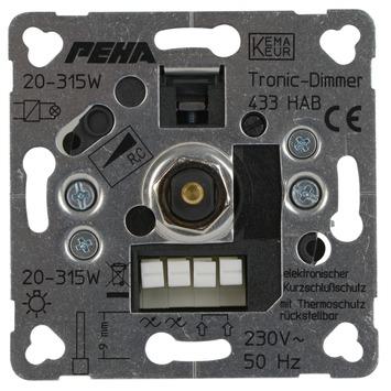 Peha Standard inbouwdimmer halogeen elektrische trafo 20-315 watt