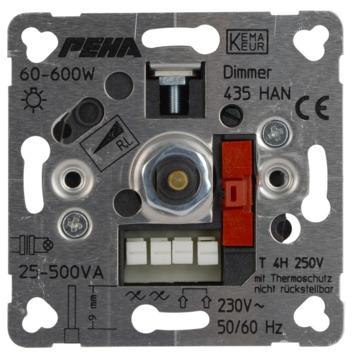 Peha Standard inbouwdimmer halogeen spoeltrafo 60-600 watt
