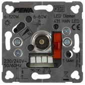 Peha Standard inbouwdimmer led/gloei/halogeen 60-400 watt