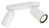 Philips duospot Pongee LED wit 230V