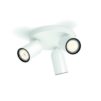 Philips Opbouwspot MyLiving Pongee LED Wit 3 x 5.5W