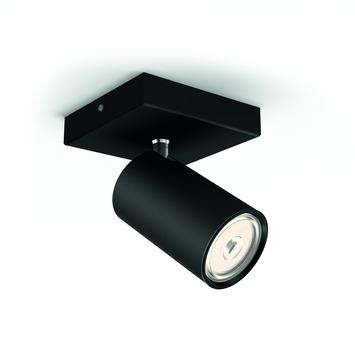 Philips opbouwspot Kosipo LED zwart 230V