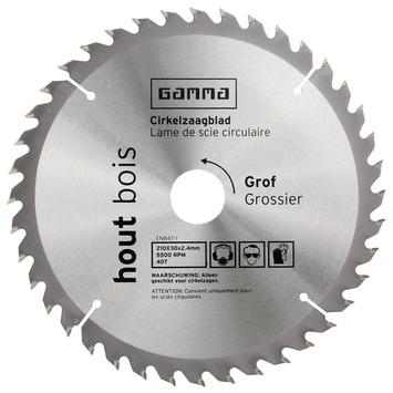 GAMMA zaagblad hout 210x30/16 mm 40 tanden