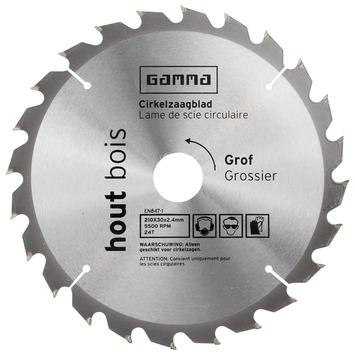 GAMMA zaagblad hout 210x30/16 mm 24 tanden