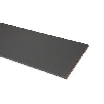 Meubelpaneel ABS 2-zijdig antraciet 240x40 cm 18 mm