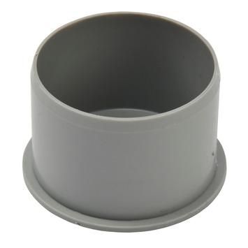 Einddop PPC grijs 75 mm