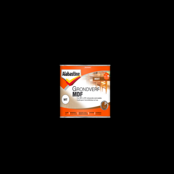 Alabastine Grondverf Mdf wit 250 ml