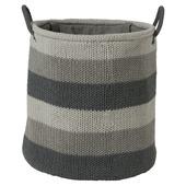 Sealskin Wasmand Knitted 36x38 cm Grijs
