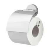 Handson toiletrolhouder met klep Smart chroom