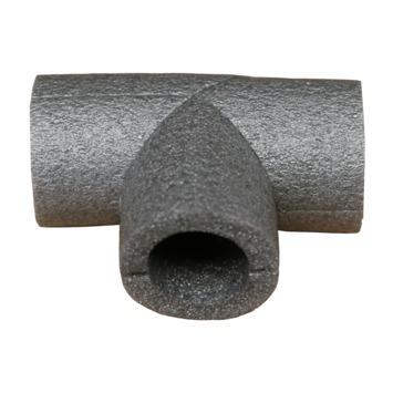 Buisisolatie T-stuk 35mm grijs