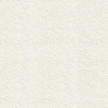 Vliesbehang Granolstuc wit 103998