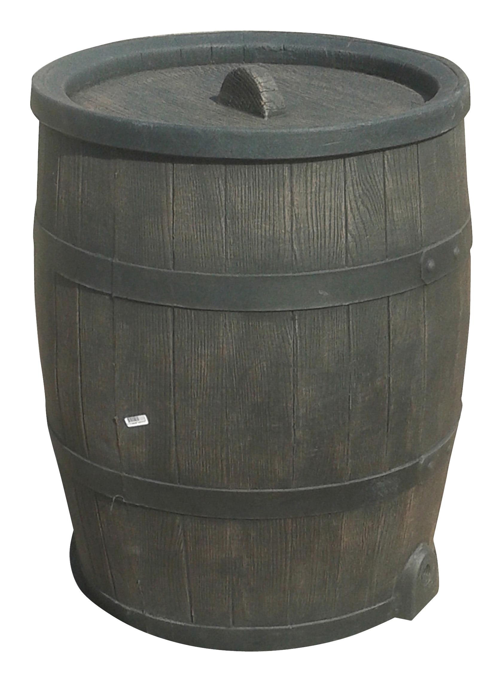 Regenton Houtlook Kunststof 50 Liter