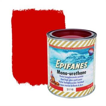 Epifanes mono-urethane jachtlak hoogglans nr. 3116 bright red 750 ml