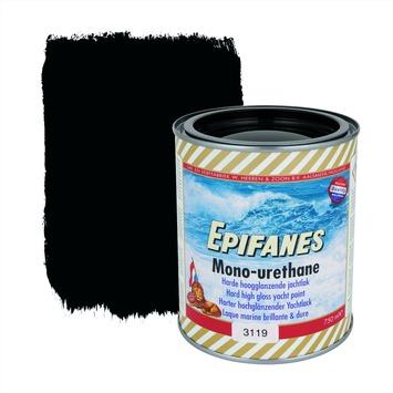 Epifanes mono-urethane jachtlak hoogglans nr. 3119 black 750 ml