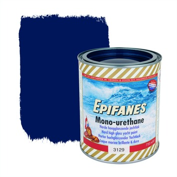 Epifanes mono-urethane jachtlak hoogglans nr. 3129 mediumblue 750 ml