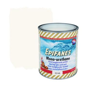 Epifanes mono-urethane jachtlak hoogglans nr. 3248 stark wit 750 ml