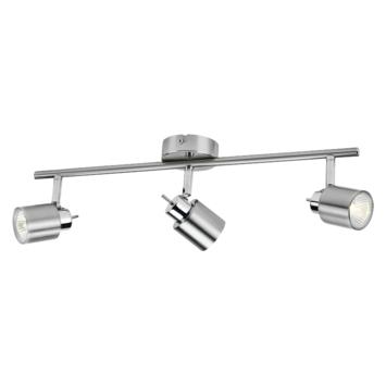 Philips opbouwspot Meranti 3- lichts nikkel