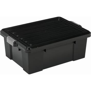 Opbergbox heavy duty 43L incl deksel