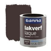 GAMMA lakverf voor buiten wenge bruin zijdeglans 750 ml