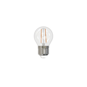 LED kogellamp filament E27 2W 250 lumen