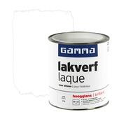 GAMMA lakverf voor binnen wit hoogglans 750 ml