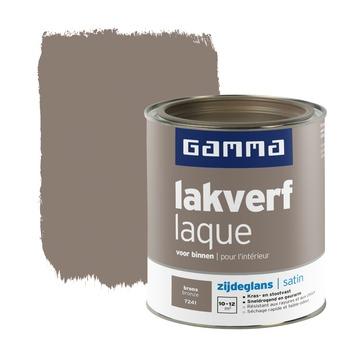 GAMMA lakverf voor binnen brons zijdeglans 750 ml